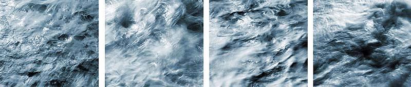 Werkreihe ATLANTIK IV . grey water
