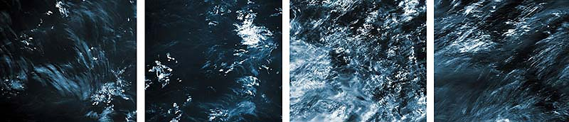Werkreihe ATLANTIK IV . black water