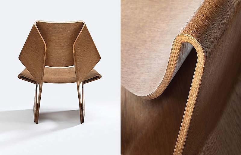 plywood GJ Chair von Grete Jalk - SAMMLUNG WERNER LÖFFLER, Reichenschwand