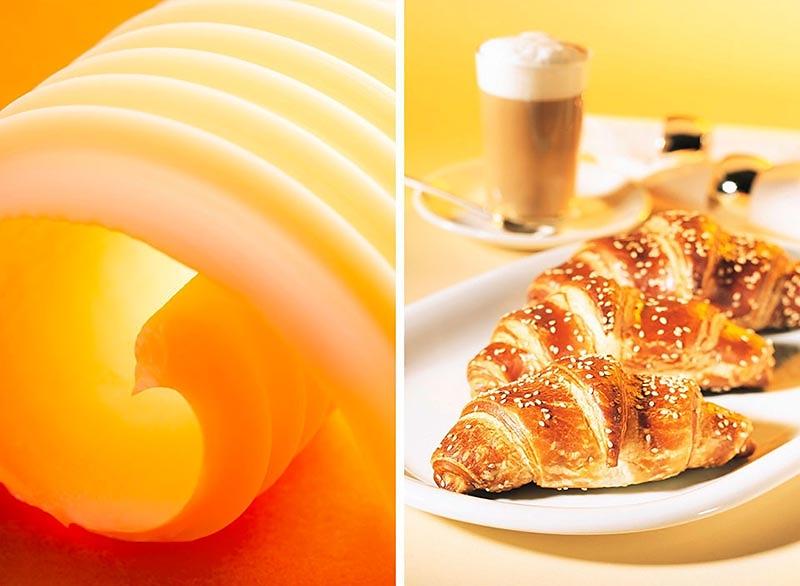 zarter Butterschmelz und duftende Croissants - Bäckerei Hamma