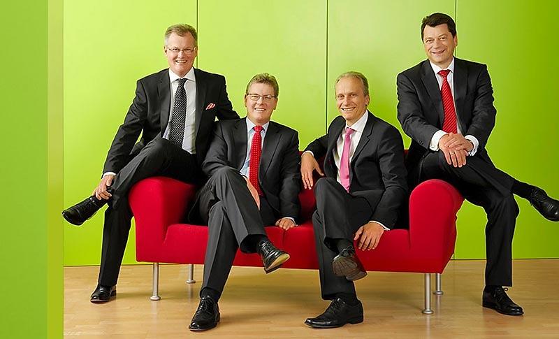 Gruppenaufnahme - Vorstand SPARKASSE NÜRNBERG