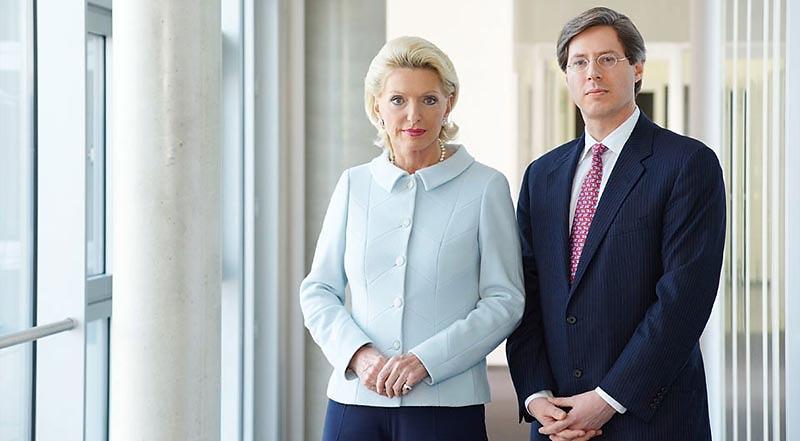 Business-Portrait -  Maria-Elisabeth Schaeffler und Georg Schaeffler