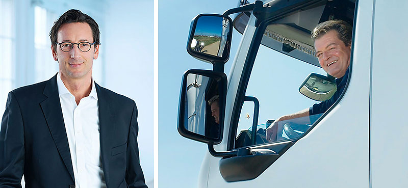 Business-Portrait Fritz Tschirschwitz Logistik