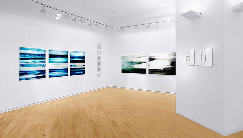 """Ein Bild aus der Ausstellung """"WASSER"""" der Nürnberger Künstlerin Sabine Freudenberger, Galerie Voigt Nürnberg"""