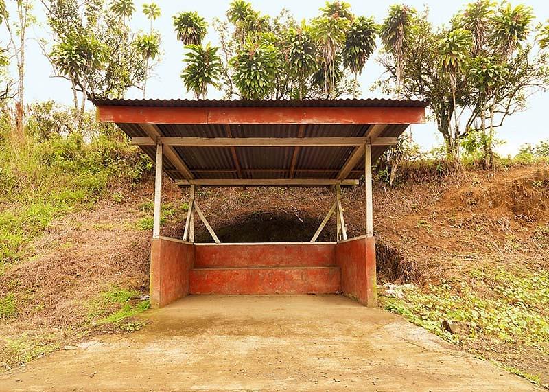 Werkreihe PARADA DE AUTOBUS . Sarapiqui . Arenal . 0032