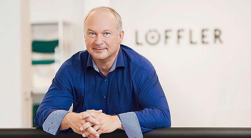 Personality Portrait Unternehmensgründer Werner Löffler Löffler