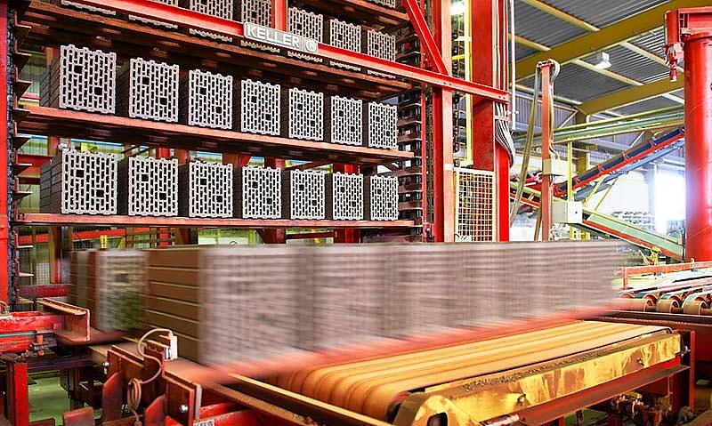 Industriefotografie im Ziegelwerk Röben für REHART GROUP