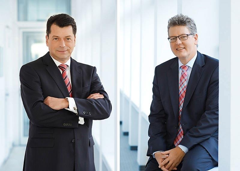 Matthias Benk und Dr. Matthias Everding - Vorstände SPARKASSE NÜRNBERG