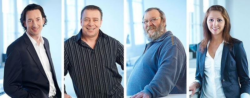 Business-Portraits - FRITZ TSCHIRSCHWITZ und MItarbeiter