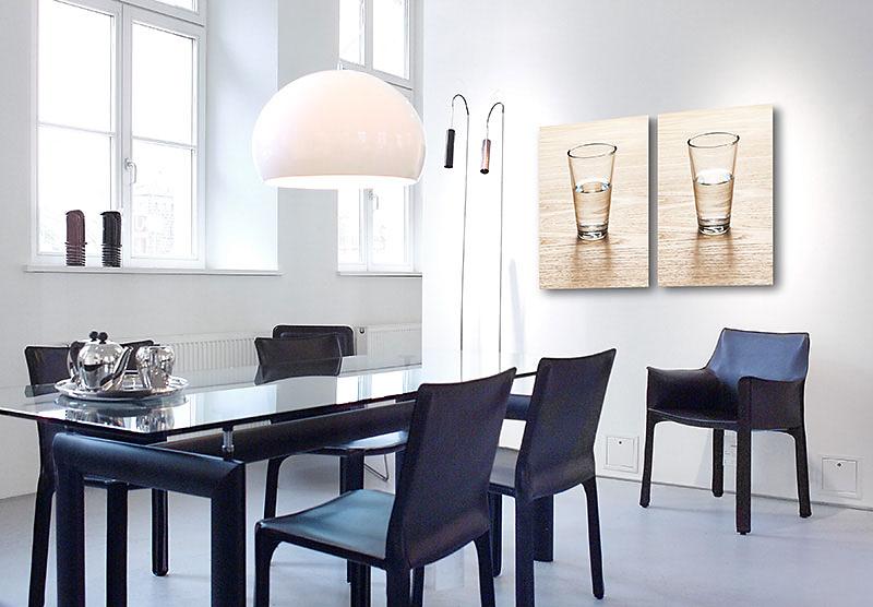 Mobilia Nürnberg halbleer und halbvoll kunst im unternehmen für mobilia wohnbedarf